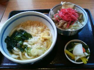 【大門】うどん&丼