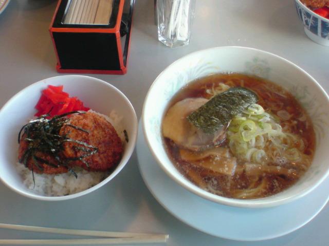【新潟】ラーメン&かつ丼